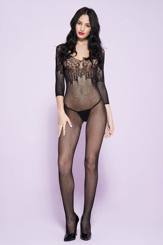 Music Legs Bodystocking 1570 | Angel Clothing
