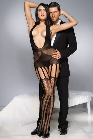 Music Legs Camisole Bodystocking | Angel Clothing