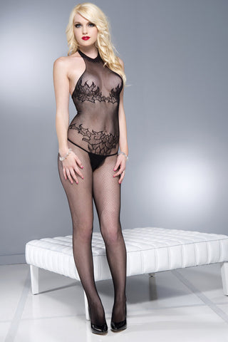 Music Legs Bodystocking 1604 | Angel Clothing