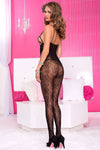 Music Legs Open Cup Bodystocking | Angel Clothing