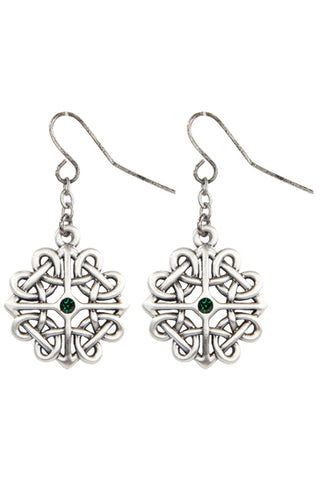 Mystica Celtic Flower Earrings | Angel Clothing