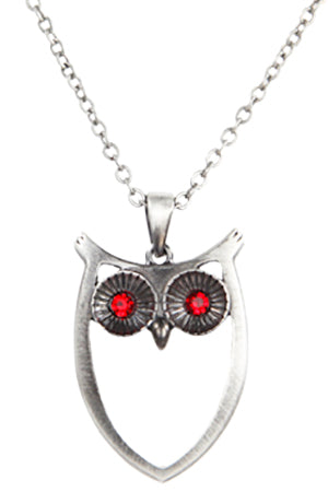 Mystica Owl Necklace | Angel Clothing