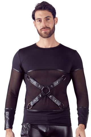 NEK Cross Harness Shirt | Angel Clothing