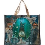 Lisa Parker Magic Cat Montage Shopping Bag | Angel Clothing