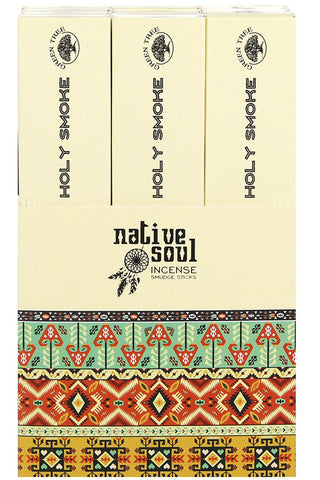 Native Soul Holy Smoke Incense Smudge Sticks | Angel Clothing