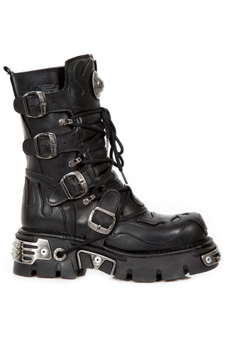 New Rock M107 C7 Boots | Angel Clothing