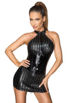 Noir Handmade Dress 2-way Zip | Angel Clothing