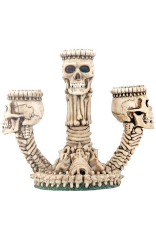 Ossuary Skeleton Triple Candleholder | Angel Clothing