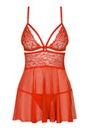 Obsessive Red Babydoll | Angel Clothing