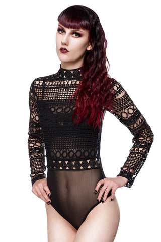 Ocultica Gothic Body Aus Spitze | Angel Clothing