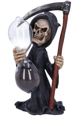 Out of Time Grim Reaper Sand Timer | Angel Clothing