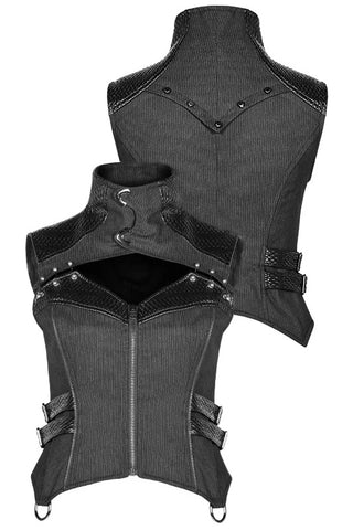 Punk Rave She Trooper Military Steampunk Waistcoat WY-967 | Angel Clothing