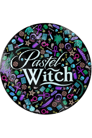 Pastel Witch Glass Chopping Board