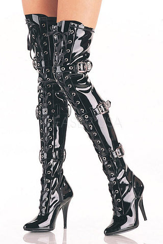 Pleaser SEDUCE 3028 Boots | Angel Clothing