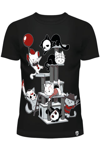 Horror Cats T-Shirt | Angel Clothing