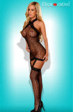 Provocative Black Bodystocking 4440 | Angel Clothing