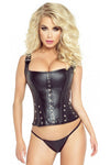 Provocative Corset Black | Angel Clothing