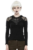 Punk Rave Alienation Top | Angel Clothing