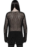 Punk Rave Hollowed-Out Sweater | Angel Clothing