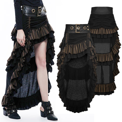 Punk Rave Old Saloon Skirt Q-347 | Angel Clothing