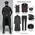 Punk Rave Warrior Coat | Angel Clothing