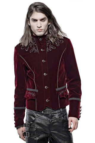 Punk Rave Hamlet Red Jacket | Angel Clothing