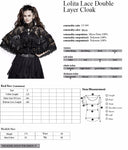 Punk Rave Princessin Bolero Cloak | Angel Clothing