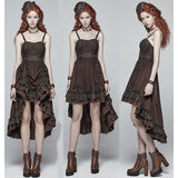 Punk Rave Steampunk Hellish Dress | Angel Clothing