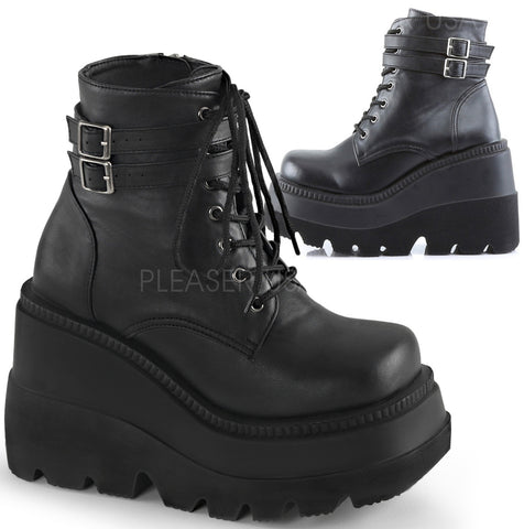 Demonia SHAKER-52 Boots | Angel Clothing