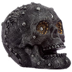 Silver Beaded Skull Head | Angel Clothing