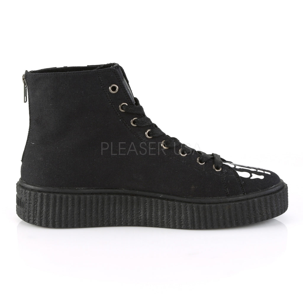 Sneeker 252 Skeleton Hi Top Creeper