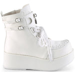 Demonia SPRITE-70 Boots White | Angel Clothing