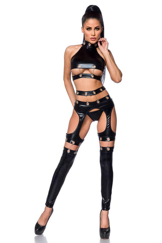 Saresia Metal Wetlook Set | Angel Clothing