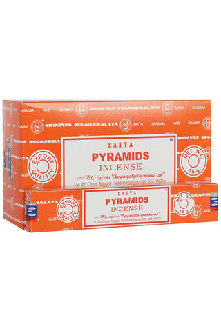Satya Pyramids Incense Sticks | Angel Clothing