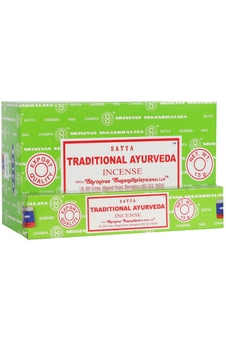 Satya Traditional Ayurveda Incense Sticks | Angel Clothing