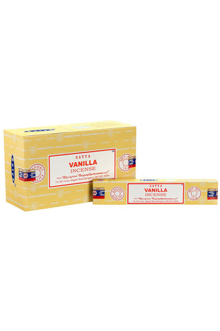 Satya Vanilla Incense Sticks | Angel Clothing