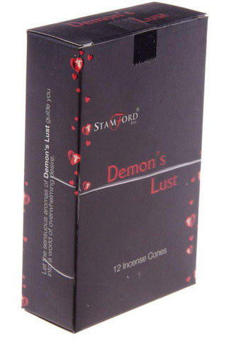 Stamford Demons Lust Incense Cones | Angel Clothing