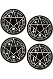 The Devil Is Living In My Flesh Coaster Set | Angel Clothing