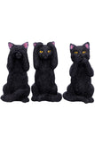 Three Wise Felines Cats | Angel Clothing