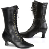 Funtasma Victorian 120 Boots Black | Angel Clothing