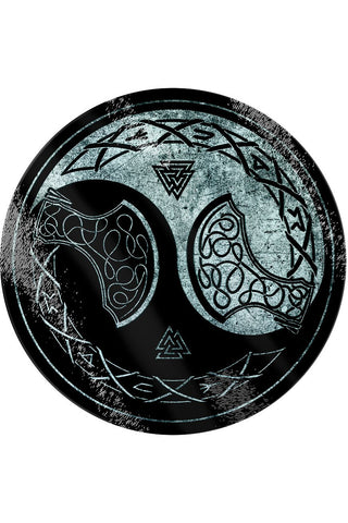 Viking Yin Yang Glass Chopping Board | Angel Clothing