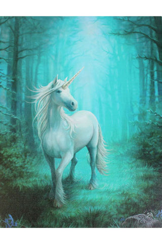 Anne Stokes Forest Unicorn Picture | Angel Clothing