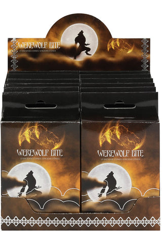 Werewolf Bite Incense Cones | Angel Clothing