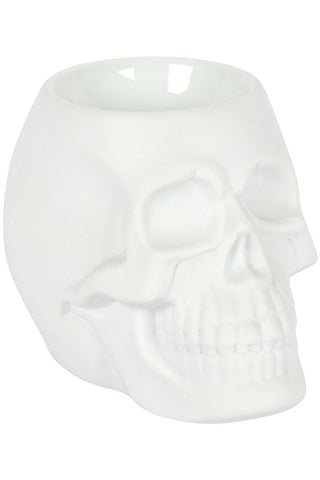 White Skull Oil Burner | Angel Clothing