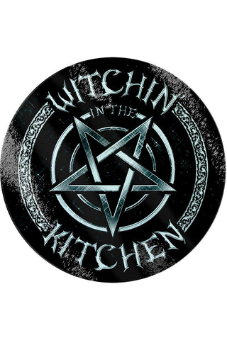 Witchin In The Kitchen Glass Chopping Board | Angel Clothing