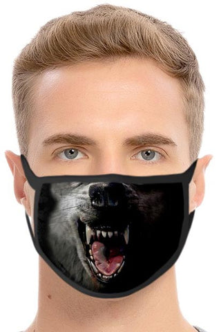 Wolf Face Mask | Angel Clothing