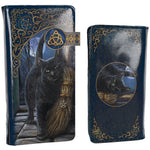 Lisa Parker A Brush With Magick Embossed Purse 18.5cm | Angel Clothing