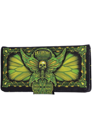 Absinthe La Fee Verte Embossed Purse | Angel Clothing