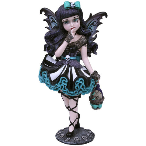 Adeline Little Shadows Fairy Figurine with Bottle of Poison - Angel Clothing