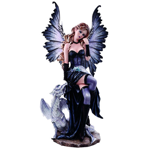 Adriana Gothic Fairy and Dragon 56.5cm - Angel Clothing